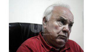 El presidente sabalero atraviesa un momento complicado de salud según el último parte médico / Foto: Juan Manuel Baialardo - Uno Santa Fe
