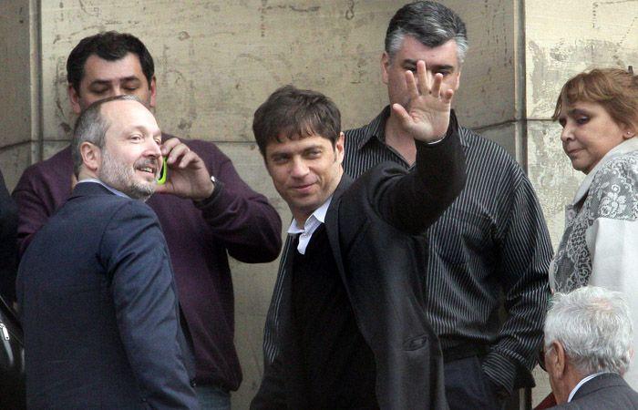 Kicillof prestó declaración esta mañana en los Tribunales Federales.