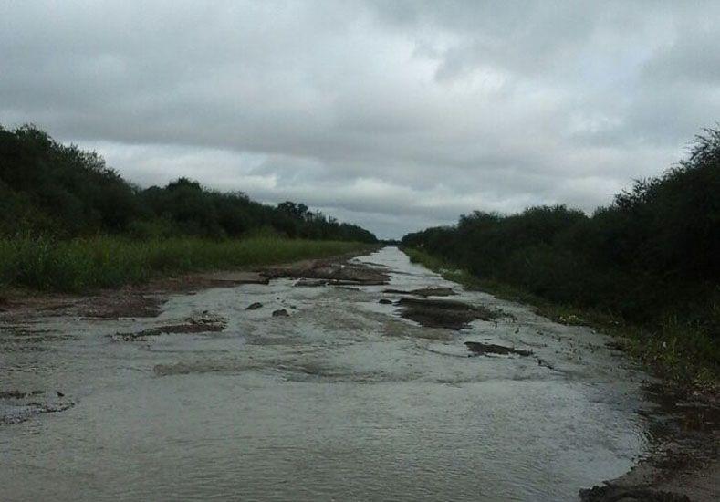 Delicada situación  es la que vive la localidad de Aguará Grande