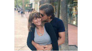 Leonardo Squarzon publicó la primera imagen con su novia.