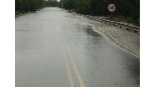 Corte total en ruta 6. Foto: Agencia Provincial Vial de Santa fe