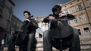 La rompen con sus violonchelos