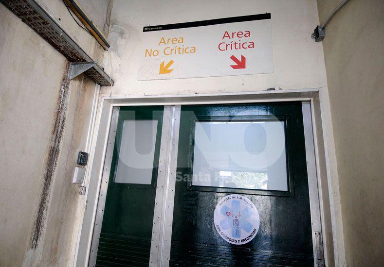 Bersano falleció minutos antes de las 22 en el hospital Cullen / Foto: Juan Manuel Baialardo - Uno Santa Fe