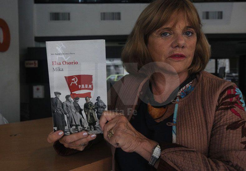 Elsa Osorio. La escritora recuperó la vida de Feldman en su libro./ José Busiemi.