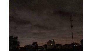 Rige un alerta por tormentas fuertes que abarca a la provincia