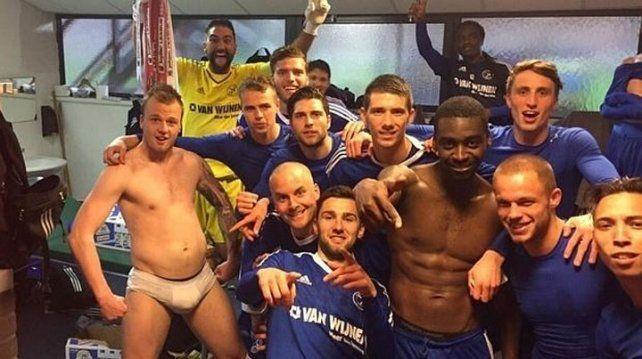 Un equipo holandés ridiculizó la selfie del Real Madrid