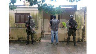 Allanamiento en calle 40 de la ciudad de Reconquista