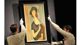 Conflicto. El desaparecido cuadro de Modigliani mencionado en el informe.