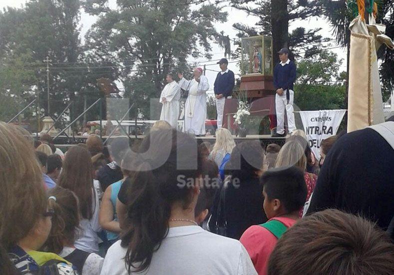A pesar de la lluvia, Santa Fe celebra la fiesta de la Virgen de Guadalupe