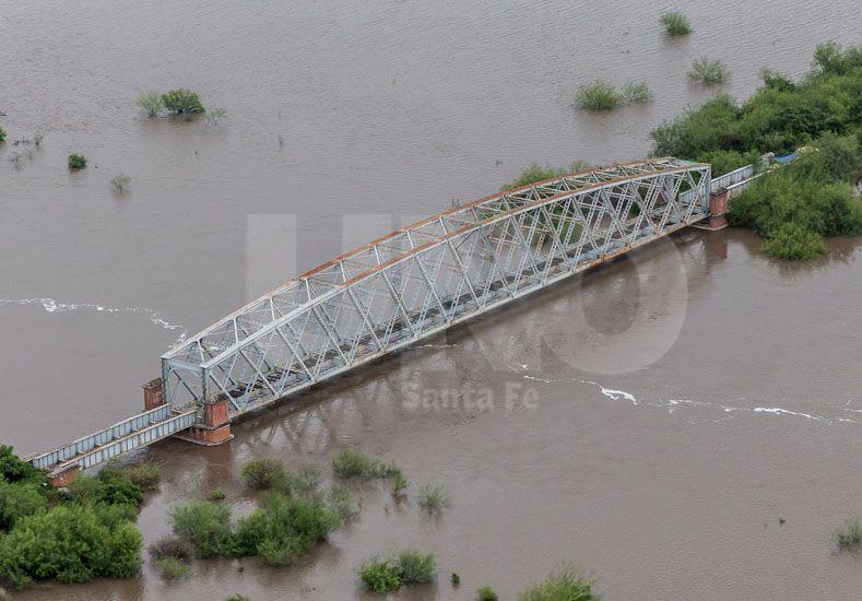 Así está el departamento San Cristóbal por las intensas lluvias