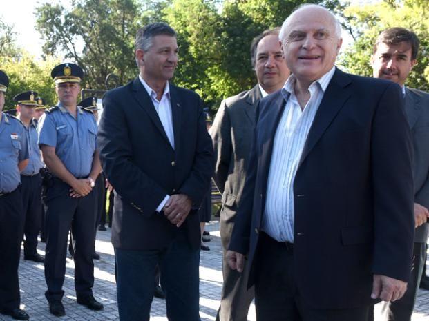 Lifschitz afirmó que la semana próxima pondrá en funciones a Bruschi como jefe de policía provincial