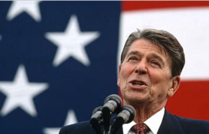 Ronald Reagan condujo los destinos de Estados Unidos entre 1981 y 1989.