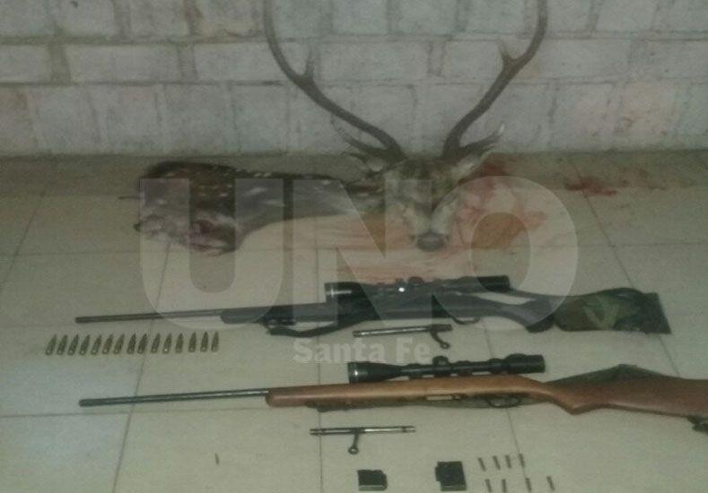 Decomisaron especies autóctonas depredadas por cazadores furtivos