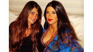 Antonella Roccuzzo y Daniella Semaan, amigas para el infarto