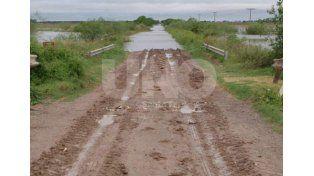 Preocupación por los anegamientos en Elisa y localidades cercanas