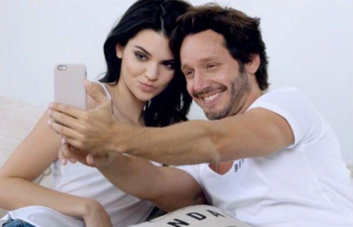 Kendall Jenner y Benjamín Vicuña