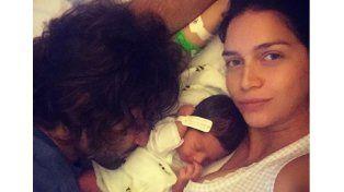 Reveló el tema que inspiró el nombre de su beba y le hizo una dura advertencia a Rial
