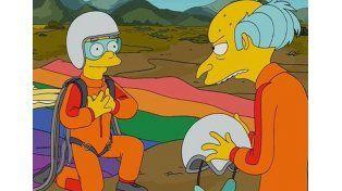 La historia de amor del guionista de Los Simpson que hizo que Smithers saliera del armario