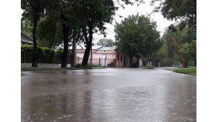 San Javier. En los últimos días precipitaron casi 400 milímetros y el agua generó muchos inconvenientes. Gentileza/Canal 2 Cable Video San Javier