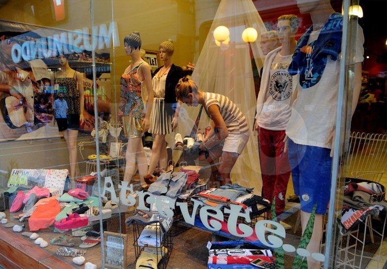 A la baja. El Centro Comercial señala que hay menos ventas y mayores costos para el sector / Foto: José Busiemi - Uno Santa Fe