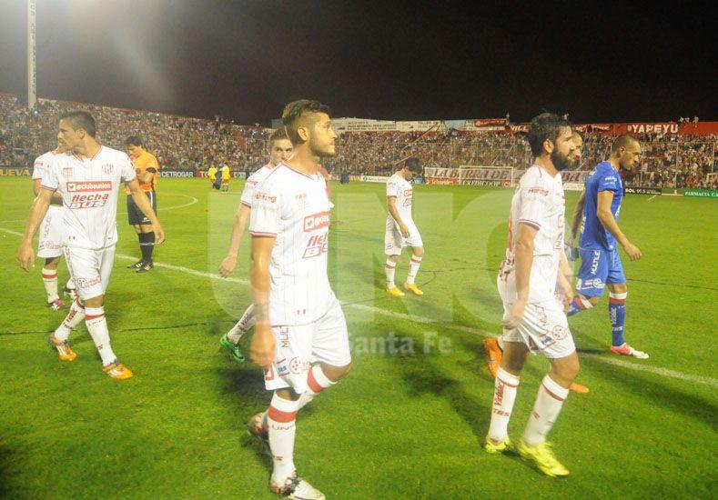 El envión anímico que traía el equipo por ganar el Clásico se frenó ante el puntero de la zona 2 / Foto: Mauricio Centurión - Uno Santa Fe