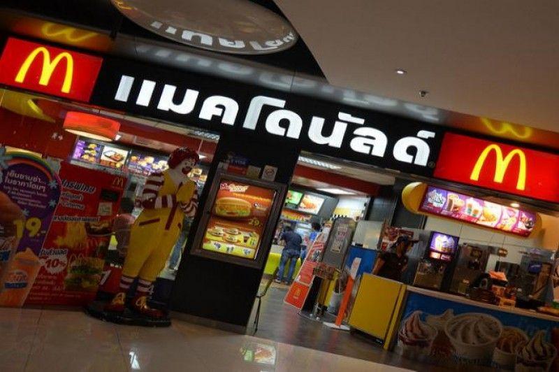 Una rata gigante apareció en un local de McDonalds en Tailandia