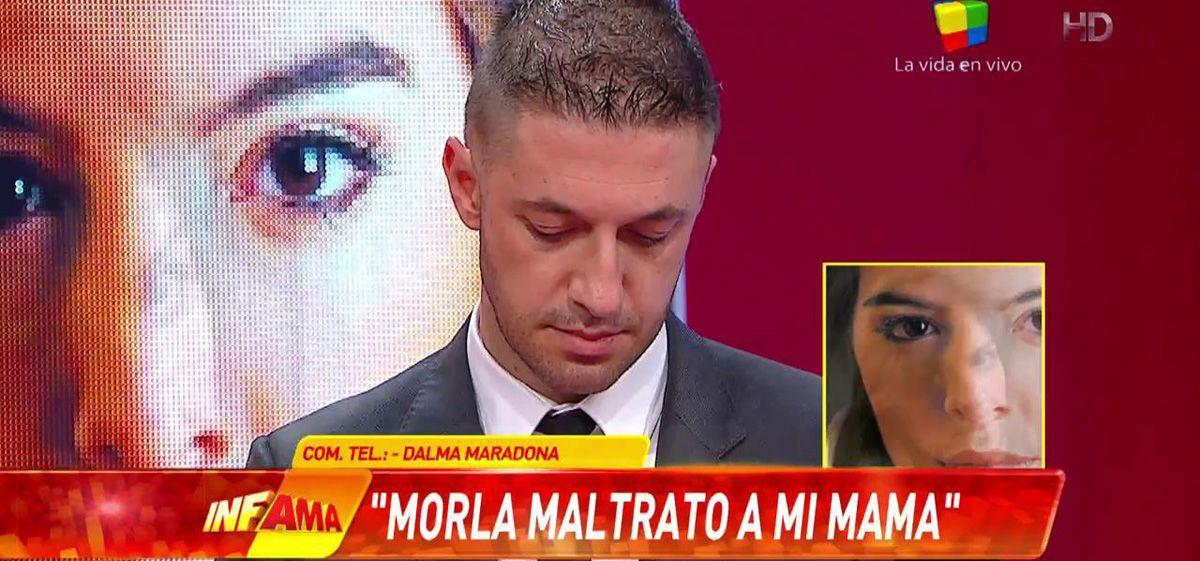 Dalma Maradona: Voy a defender a mi mamá hasta el final... es muy triste lo que dijo mi papá