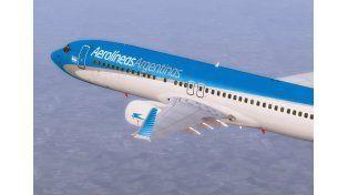 Aerolíneas Argentinas aseguró que estudia aumentar los vuelos