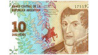 El Banco Central presentó el nuevo billete de $10