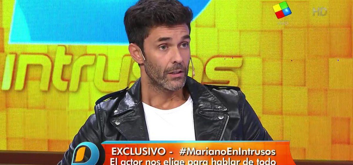 Mariano Martínez habló en Intrusos: Ya no estoy enamorado de Lali