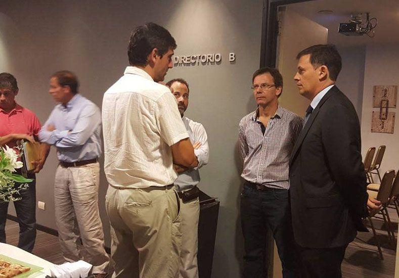 Gaviola se reunió con las cámaras de agencieros de la provincia