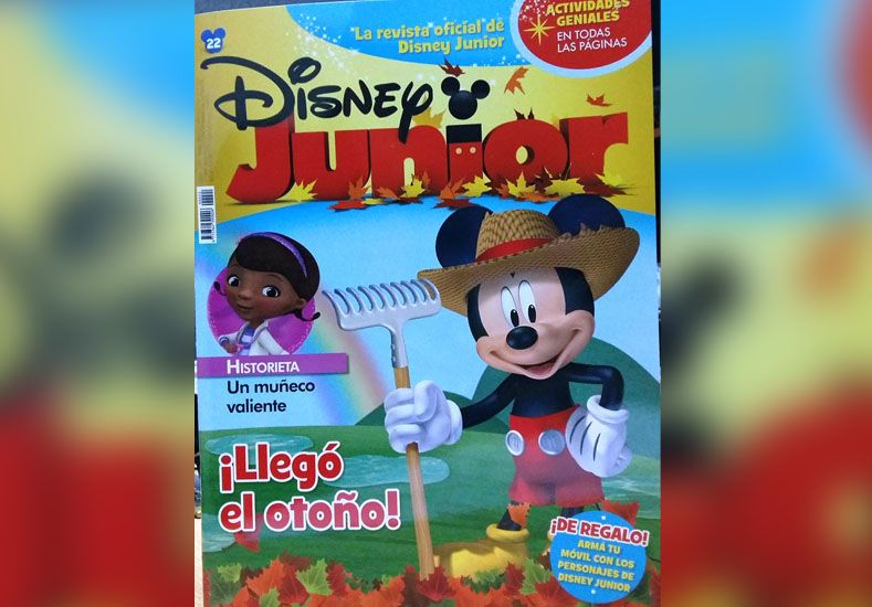 Este martes llevate la revista de Disney Junior