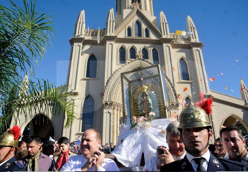 Renovada. Los fieles podrán observar los cambios en la Basílica. Foto: José Busiemi / UNO Santa Fe
