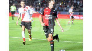 Adrián Bastía se ganó un lugar en el equipo titular. Foto: José Busiemi / UNO Santa Fe