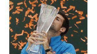 No lo pueden parar: Djokovic consiguió un nuevo título y alcanzó el récord de Agassi
