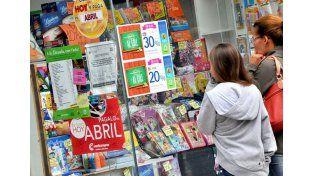 Las ventas minoristas cayeron 5,8% en marzo