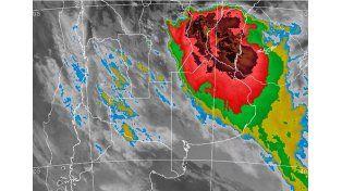 Continúa vigente el alerta por tormentas para centro y norte de Santa Fe