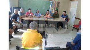 El Comité Operativo de Emergencia en San Cristóbal.