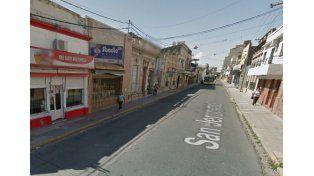 Inmediciones del local nocturno en donde se produjo la pelea./ Google maps.