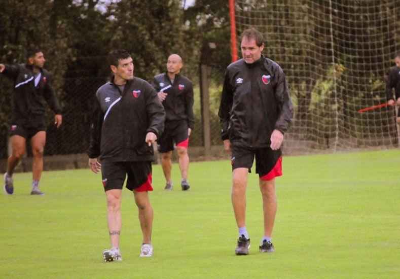Darío Franco se mantiene firme en su decisión de seguir como entrenador pese a un mal resultado. Gentileza/Prensa Colón