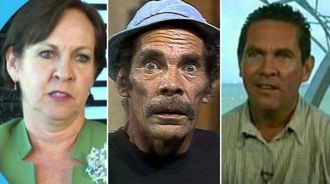 Los hijos de Don Ramón, muy enojados con Doña Florinda