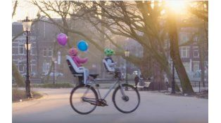 La bicicleta que se maneja sola