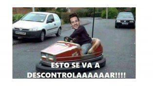 Los memes con el nuevo accidente automovilístico de Chano