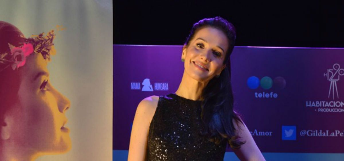 Natalia Oreiro presentó su nueva película en homenaje a Gilda
