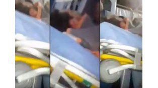 VIDEO: Así fue el traslado de Chano luego de sufrir un nuevo accidente