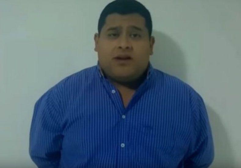 Concejal salteño buscado por narcotráfico dio un comunicado por YouTube