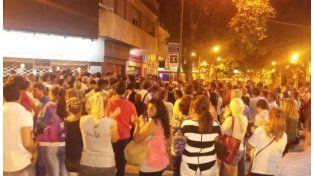 Los vecinos se manifestaron por las calles de Venado Tuerto.