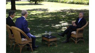 Macri le dio una extensa entrevista a TN.