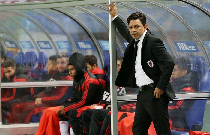 Gallardo espera para saber con qué jugadores podrá contar para el choque del sábado en Paraná.