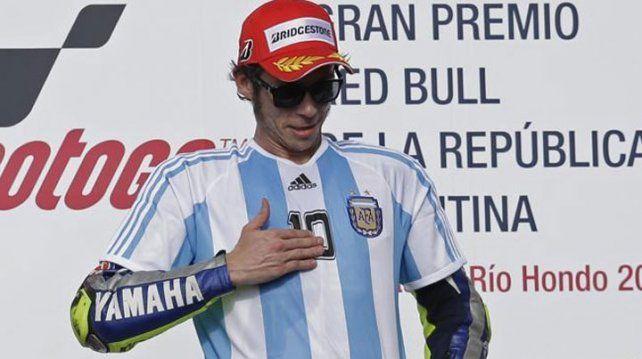 En Argentina tengo muchos fans